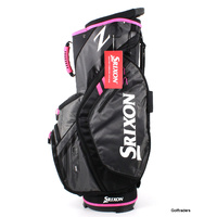 New Srixon Ladies Z Cart Bag 15 Way Full Length Dividers Grey / Pink F5880