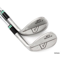 A Grind V2 Kobe Japan Raw Wedge Set Sand 54º Lob 58º Steel Wedge Flex F5939