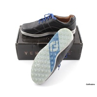 New Footjoy Versaluxe Mens Golf Shoes Navy 57254A Size 12US Wide F5999