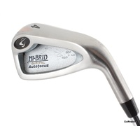 HI-BRID DIGITAL AUTOFOCUS 4 IRON STEEL XP95 R300 REGULAR FLEX -NEW GRIP #F887