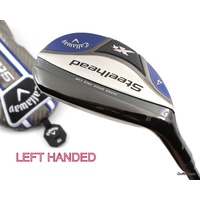 CALLAWAY STEELHEAD XR 4 HYBRID 22º GRAPHITE REGULAR+COVER -LH -NEW GRIP #F928