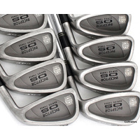 PGF Ladies Inceptor OS Irons 3-PW & SW Steel Ladies Flex G1538