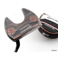 "New Taylormade TP Collection Copper SS Ardmore 3 Putter Steel 35"" Cover G2044"