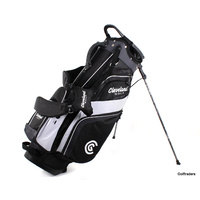 New Cleveland Lite Golf Stand Bag Black / Charcoal / White G2862