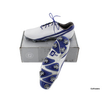 New Footjoy Dna 2.0 Golf Shoe White / Royal Size 11 W G3615