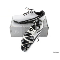 New Footjoy Dna 2.0 Golf Shoe White / Black Size 11 W G3618