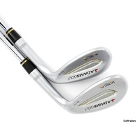 Adams Golf Forged Idea Pro Wedge Set 55º & 60º Steel Wedge Flex G4892