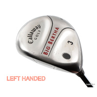 Callaway Big Bertha 3 Fairway Wood Steel Uniflex New Grip Left Handed G717