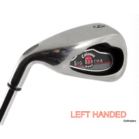 Callaway Big Bertha 6 Iron Steel Regular Flex Left Handed H1077