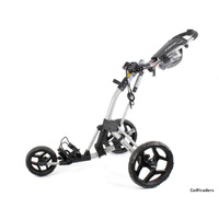 New ClicGear Rovic RV2L Golf Buggy Silver / Black H1414