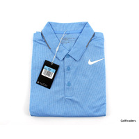 New Nike Golf Men's Dri-Fit Standard Fit Golf Shirt 833063 412 Size M H1452