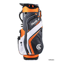New Cleveland Lite Cart Golf Bag Charcoal / Burnt Orange / White H1840