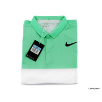 New Nike Golf Men's Dri-Fit Standard Fit Golf Shirt 833157 300 Size M H2005