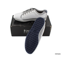 New FJ Contour Mens Golf Shoes 54204A White / Grey Size 11.5 US Wide H225