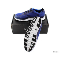 New FJ Superlites XP Mens Golf Shoes 58026A Blue / Black Size 11 US Wide H228