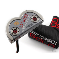 "Scotty Cameron Golo 6 Putter Steel 33"" Cover H2393"