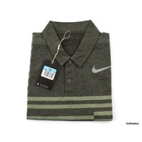 New Nike Golf Men's Dri-Fit Standard Fit Golf Shirt 833081 325 Size M H2830