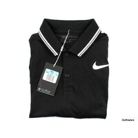 New Nike Golf Men's Dri-Fit Modern Fit Golf Shirt 833075 010 Size M H2832