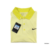 New Nike Golf Men's Dri-Fit Standard Fit Golf Shirt 749330 358 Size M H2837