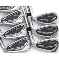 New Cobra King F9 One Length Irons 5-PW, SW Steel Regular Flex H2975