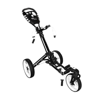 New Prosimmon Icon One Fold Golf Buggy Black / White H3194