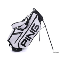 New Ping Hoofer Tour Stand Bag White / Black H3197