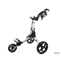 New Clicgear Rovic RV1C Golf Buggy Silver / Black H3302