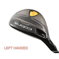 Cobra Fly-Z Black 3-4 Hybrid Graphite Stiff Flex Left Handed H3363