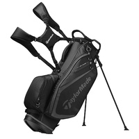 New Taylormade TM19 Select Golf Stand Bag Black / Charcoal H3843
