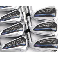 New Cobra King Rad Speed One Length Irons 4-PW Steel Regular Flex H4331