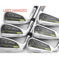 "New Cobra King Rad Speed Irons 5-PW Steel Regular Flex LH +0.5"" Longer H4334"