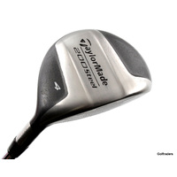 Taylormade 200 Steel 4 Fairway Wood Steel Stiff Flex New Grip H5354