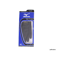 MIZUNO TEC FLEX ALL WEATHER LADIES GOLF GLOVE BLACK LARGE - LH - NEW #C4645