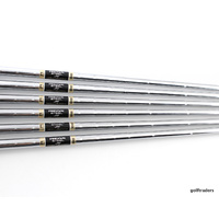 FST REAX HIGH LAUNCH STEEL 5-PW IRON SHAFTS REGULAR FLEX .370 TIP #SH2381
