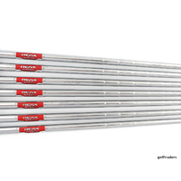 TRUE TEMPER REAX 90 STEEL 4-PW IRON SHAFTS REGULAR FLEX .370 TIP SH3376