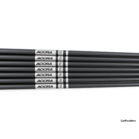 "ACCRA 70i GRAPHITE 5-GW IRON SHAFTS UNIFLEX .370"" TIP SH4160"