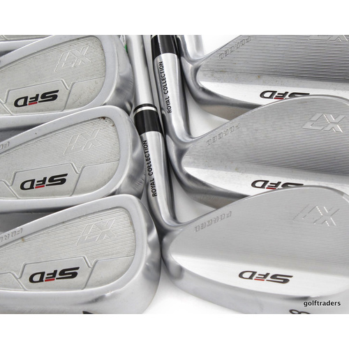 Royal Collection Japan SFD X7 Forged Irons 7-PW,48,52,56° plus free gift E1636