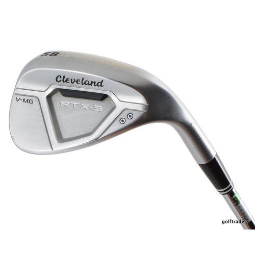 CLEVELAND RTX-3 V-MG LOB WEDGE 58.09 STEEL DG WEDGE FLEX #E3923