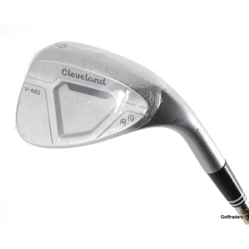 CLEVELAND RTX-3 V-MG SAND WEDGE 56.11 STEEL DG WEDGE FLEX - NEW #F1143