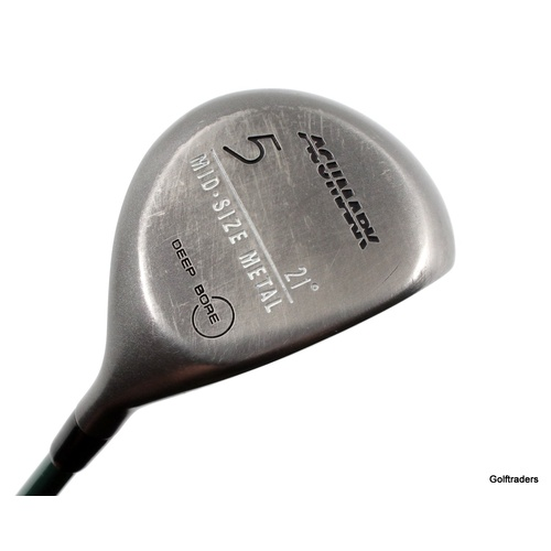 Acumark Mid-Size Deep Bore 5 Fairway Wood 21° Graphite Stiff Flex G2177